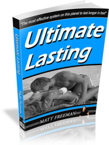 how to last longer with ultimate lasting
