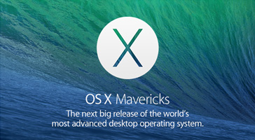 OS X Mavericks. The next big release of the world's most advanced desktop operating system.