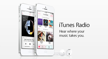 iTunes Radio. Hear where your music takes you.