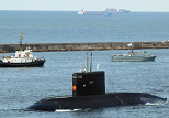 The Varshavyanka class submarine (archive)