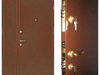 ustanovka vkhodnykh metallicheskikh dverei2 Установка входных металлических дверей