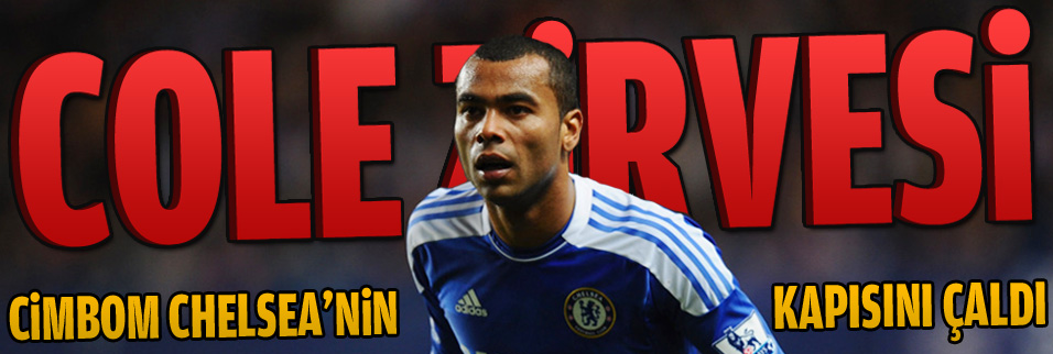 Londra'da Ashley Cole zirvesi