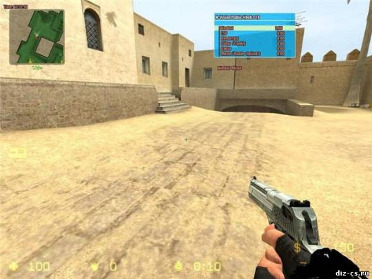 Wallhack для Counter-Strike Source