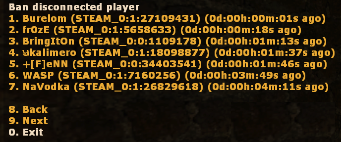 Ban Disconnected Players