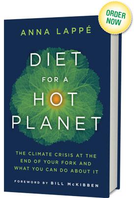 Pre Order Now - Diet for a Hot Planet by Anna Lappé