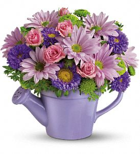 Teleflora's Spring Showers Bouquet in Auburn NY, Smiley's Town & Country Florist