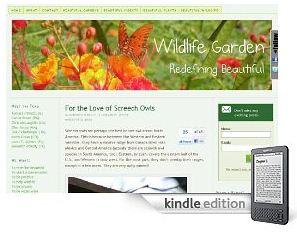 Beautiful Wildlife Garden on Kindle