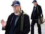 Bloated and exhausted Matthew Perry reveals even more weight gain as he boards a plane after piling on the pounds