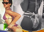 A month in the life of Rihanna¿s derriere: Racy singer just loves showing her cheeky side on Instagram