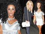 Chelsee Healey and Helen Flanagan compete for attention in eye-catching outfits at Rio Ferdinand's testimonial match after party