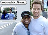'Close enough'! Good sport Mark Wahlberg takes to Facebook after fan mistakes him for Matt Damon