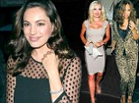 Who needs a man with friends like these? Kelly Brook parties with Katherine Jenkins and Myleene Klass after split from Danny Cipriani