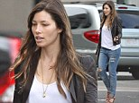 Casually cool Jessica Biel arrives in Boston to catch yet another Justin Timberlake show