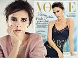 'I'd rather shove on a face pack': Victoria Beckham reveals her reluctancy to enjoy the celebrity lifestyle... as she graces yet another Vogue cover