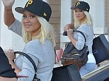 Can't Hold Her Down: Christina Aguilera shops for her hot new figure after shedding the pounds ahead of her return to The Voice
