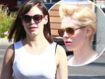 New extensions! Rose McGowan went from platinum pixie to brunette bob in three months