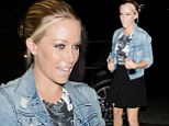 Kendra Wilkinson Has Dinner With Friends at Aventine