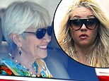 Amanda Bynes's mother Lynn is granted temporary conservatorship as 'gravely disabled star is placed on 30-day extended psychiatric hold'