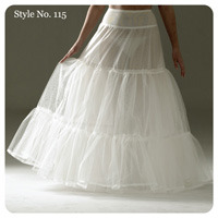 Medium petticoat (no hoops)