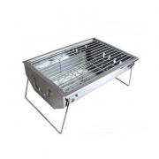 不锈钢户外便携烧烤炉子折叠碳烧烤箱 BBQ家用烧烤架