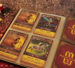 Mage Wars is the game of dueling wizards that makes Magic: The Gathering look simplistic