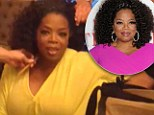 A little help from her friends! Oprah Winfrey takes fans behind the scenes of her red carpet preparations