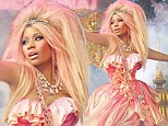 Yes, Minajesty! Nicki Minaj proves her new perfume rules as she rocks regal style as fairytale queen in fragrance ad