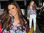 Stylish in the city: Alessandra Ambrosio looked ultra chic as she left a photo studio in NYC on Wednesday