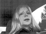 In this undated photo provided by the U.S. Army, Pfc. Bradley Manning poses for a photo wearing a wig and lipstick
