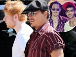 World's weirdest super group? Johnny Depp, Ed Sheeran and One Direction's Zayn Malik head to the studio