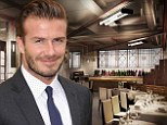Pictured: Plans for David Beckham and Gordon Ramsay's new London business venture Union Street Cafe