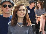 Talk about an amicable split! Former couple Lily Collins and Jamie Campbell Bower show there are no hard feelings during a flirty Mortal Instruments fan event