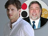 'He was extremely unavailable to us': Ashton Kutcher criticises Apple co-founder Steve Wozniak...as he steps out ahead of Jobs premiere