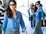 Turning heads whatever the occasion! Monica Bellucci makes a stylish entrance as she touches down in Croatia for new movie
