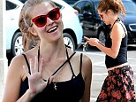 'I want a hippie baby': Teresa Palmer goes maternity shopping for 'earthy organic' clothing one day after announcing pregnancy