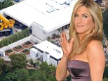She decked us! Contractor sues Jennifer Aniston after she refuses to pay for $44k party platform at her $21m new home