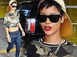 Smart move: Rihanna sported some of her new River Island fashion collection as she headed towards a dentist appointment in NYC on Wednesday