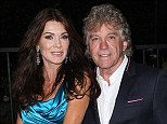 Lounge lawsuit: Lisa Vanderpump and husband Ken Todd, shown in April in Los Angeles, have been named as defendants in a breach of contract filed over their plans for a new lounge in West Hollywood, California