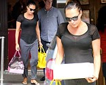 Tamara Ecclestone goes on a shopping spree visiting a luxury cake shop and picks up a large order of meat from an exclusive butchers in Notting Hill
