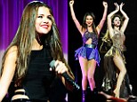 Quick change! Selena Gomez slips into a series of sexy outfits as she kicks off her Stars Dance tour