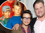 Remember me? Home Improvement stars Jonathan Taylor Thomas and Zachery Ty Bryan were reunited at a premiere in Hollywood