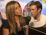Thought the Mila Kunis interview was bad? Radio 1 DJ Chris Stark left red-faced after recalling 'that time I went to a Prague strip club' during chat with Jennifer Aniston