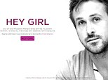 New web app HeyGirl.io turns every image on your internet browser into a picture of GIF of actor Ryan Gosling