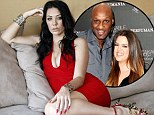Pictured: Lamar Odom's alleged mistress poses in skintight frock as she claims the Kardashians had her followed 'for weeks'