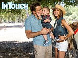 Birthday boy: Giuliana Rancic and Bill Rancic celebrated their son Duke's first birthday with a Western themed party in Agoura in California on Sunday