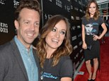 More than just buddies! Jason Sudeikis and Olivia Wilde cosy up on the red carpet at the Drinking Buddies premiere