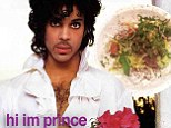 prince and his salad twitter photos