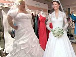 That looks a bit bigger! Mama June tries on 'replica' of Kate Middleton's royal wedding dress on Here Comes Honey Boo Boo
