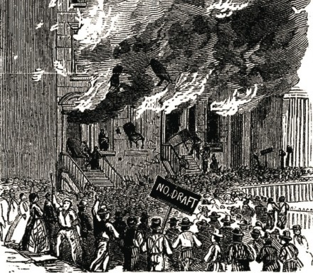 John Derbyshire Remembers The New York Draft Riots—150 Years On
