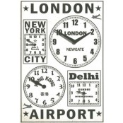 Newgate The Frequent Flyer's Clock